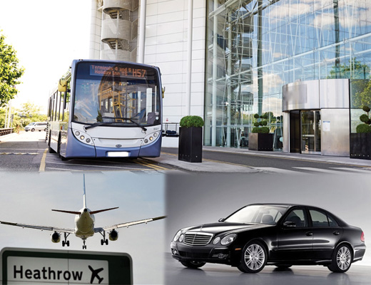 Travel To and From Heathrow by Bus and Cab